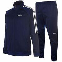 adidas Mens Sereno Tracksuit Set Zip Front Top And Track Bottoms Jogging Joggers