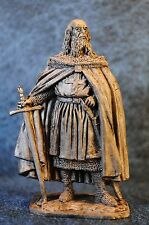 Tin Soldiers * Middle Ages * Jacques de Molay, Master of Knights Templar * 60 mm