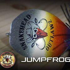 Jumpfrog, Hollowbody, Snakehead Lure, Custom Jumpfrog