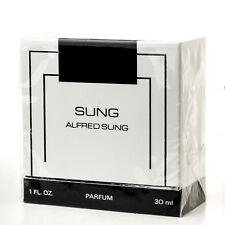 Alfred Sung Parfum 1FL OZ 30ml Extrait Pure Perfume Vintage Original Sealed Box
