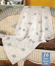 PRETTY Baby Magic Afghan/Crochet Pattern INSTRUCTIONS ONLY