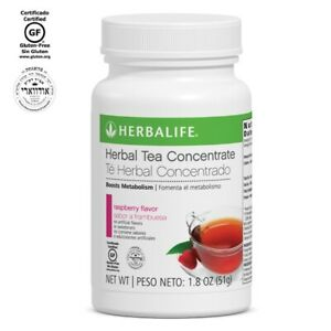 Herbalife Tea Concentrate Raspberry Flavor -  3.6 Oz NEW&Sealed