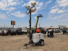 2014 Magnum Mlt3060K Towable Light Tower Kubota Diesel Generator Trailer bidadoo