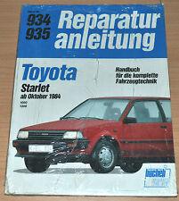 TOYOTA Starlet 1000 1300 ab 1984 EP70 EP71 1E 2E OVP Reparaturanleitung B934