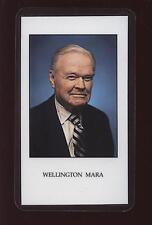 2005 Wellington Mara New York Giants Funeral Card MINT
