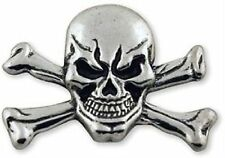 Tandy Leather Skull and Crossbone Concho Screwback 71507-08
