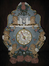 STUNNING WALL CLOCK WITH CHIMES & DIFFERENT SONGS ON EACH HR - A REAL BEAUTY!