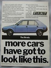 Fiat Strada Original advert