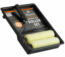 "9"" HARRIS PAINT EMULATION ROLLER WITH TRAY+SPARE REFIL"
