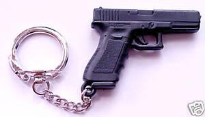 Glock pistol polymer keyring