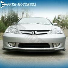 FOR 04-05 HONDA CIVIC 2D 4D STYLE A FRONT BUMPER LIP SPOILER BODYKIT UREATHAN