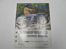 2000 Yamaha YFM400FWNM (C) Service Repair Manual FACTORY OEM BOOK 00 DEALERSHIP