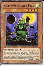3x Ninja Mascheratu Ebisu - Masked Ninja Ebisu ORCS-IT030 Ita COMMON 1 Ed.