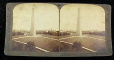 Underwood & Underwood Stereoview Card - Bunker Hill Monument Revolutionary War
