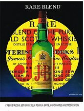 Publicité Advertising 1995 Scotch Whisky J&B