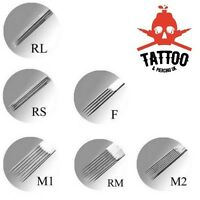 TATTOO Needles - High Precision Professional Quality RL / RS / F / M1 / RM / M2