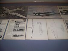 VINTAGE..BOEING 307 STRATOLINER ...STORY/HISTORY/3-VIEWS... (133D)