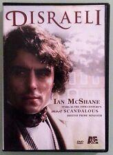 ian mcshane  DISRAELI  DVD 2 disc set