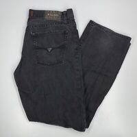 Guess ? Brand Men's Slim Straight Del Mar Fit Black Denim Jeans Size 31 x 29