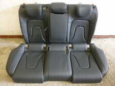 AUDI a5 8t Sport Back Pelle Sedile Posteriore Panca Sedile Posteriore Nero Leather s5 feinnappa
