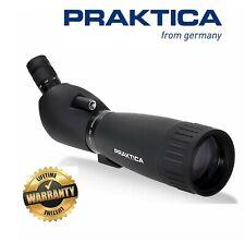 Praktica Hydan 20-60x77mm Waterproof Angled Spotting Scope Black (UK Stock)
