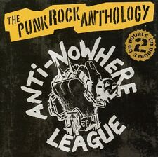 The Anti-Nowhere League - Punk Rock Anthology [New CD] With Book