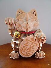 "Maneki Neko ""Lucky Cat"" Jigzle 3D Wooden Puzzle"