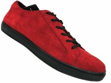 Kenneth Cole New York Men's Kam Low-Top Sneakers Wine Red Suede Size 9.5 M