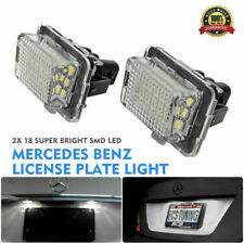 2pc LED License Number Plate Light Lamp Bulb For Mercedes Benz W204 W221 W212 UK