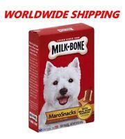Milk-Bone MaroSnacks Bone Marrow Dog Treats 15 Oz WORLDWIDE SHIPPING
