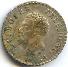 HAITI JEAN-PIERRE BOYER PRESIDENT 50 CENTIMES AN 25 (1828) KM 20