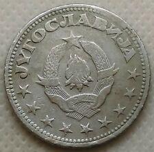 5 Dinara 1945. Yugoslavia original zinc coin, partisans coin !