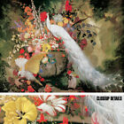 """43W""""x32H"""" WHITE PEACOCK COCKATOOS by J.A. BOTKE Repro - PARROT CHOICES of CANVAS"""