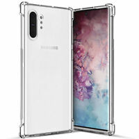 For Samsung Galaxy Note 10 Case Clear Slim Shockproof Rugged Phone Cover