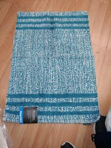 "Maretex Bath Rug 20""X30"" 100% Cotton Dark Teal"