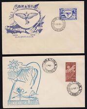 Brazil - 1959-62 FDCs