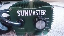 Sunmaster 600w Ballast Digital Dimmable Hydroponic Lighting used short time