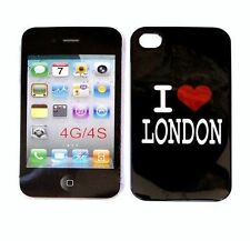FUNDA MOVIL COMPATIBLE CON IPHONE 4G 4S MOTIVO LONDRES CARCASA TRASERA