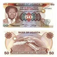 Pick 20 Uganda 50 Shillings 1985  Unc. /2216298vvv