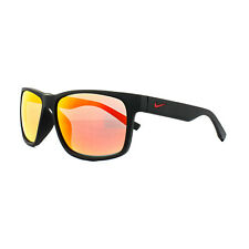 Nike Sunglasses Cruiser R EV0835 006 Matt Black Orange Red