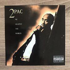 "2pac Tupac Shakur Me Against The World 4"" Wide Vinyl Sticker - BOGO"