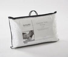 Dunlopillo Celeste Latex Pillow Firm Support 100% Cotton Cover Luxury Pillow