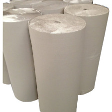 1- 910mmx50M Corrugated Cardboard Roll Packing Paper Furniture Shipping Secure