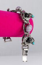 """Statement Dragon Bracelet Oxidized 925 SS Semi Precious Stones Swarovski 7.5"""""""