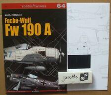 Focke-Wulf Fw 190 A - TopDrawings, KAGERO + Free Mask Foil