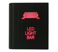 LED LIGHT BAR On-off Push Switch RED Led for VM Amarok Switch Left Side 12V 3A