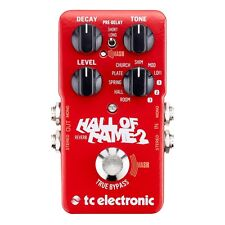 TC Electronic Hall of Fame 2 Reverb Guitar Effects Pedal