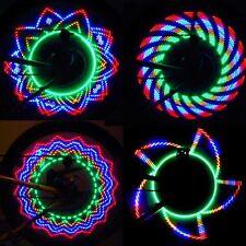 32 LED Motorcycle Cycling Bicycle Bike Wheel Signal Tire Flashing Spoke Light