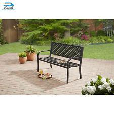 Free Shipping Garden Porch Patio Outdoor Metal Bench Seat Backyard Furniture