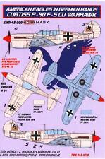 KORA Models PAINT MASKS 1/48 CURTISS P-40F WARHAWK IN GERMAN HANDS